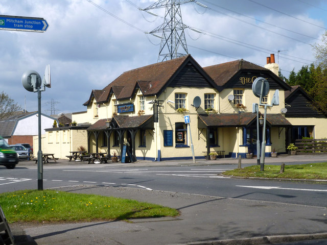 Mitcham Junction:  The 'Goat'