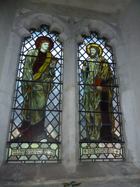 St. Nicholas, Compton: stained glass window (8)