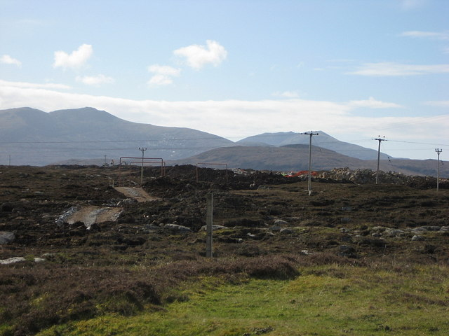 Lochcarnan Windfarm Road