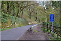 SK2276 : New Road east of Eyam by Neil Theasby