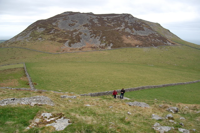 From Garn Bach - a view of Carn Fadryn