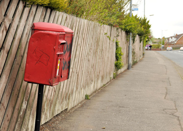 Letter box and drop box, Dundonald (1)