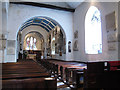 TQ4177 : St Luke's church: nave by Stephen Craven