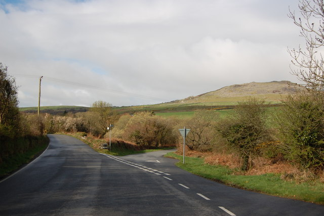 Road junction near Garnfadryn