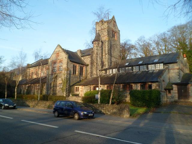 Grade II listed former Tabernacl(e) Chapel, Bangor