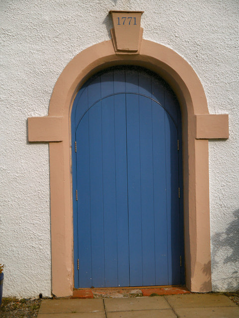 Drymen Church Door