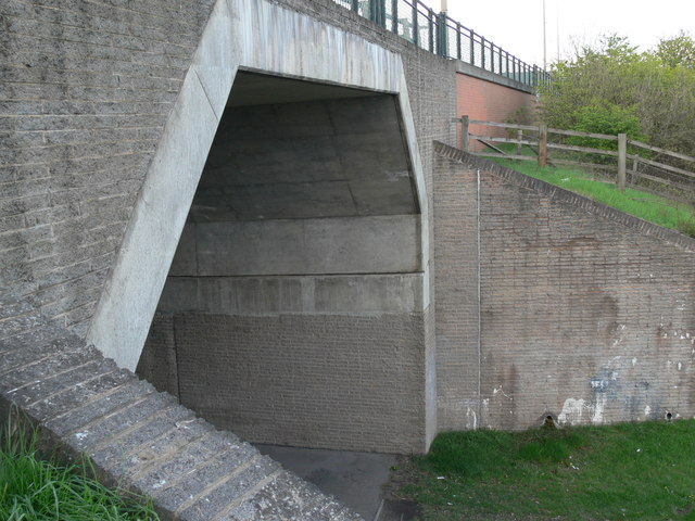 M1 motorway bridge across Watergate Lane