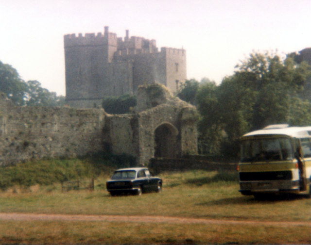 Barbican gate Saltwood Castle