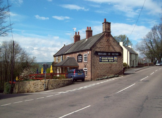 The Shoulder of Mutton Public House in Shirland