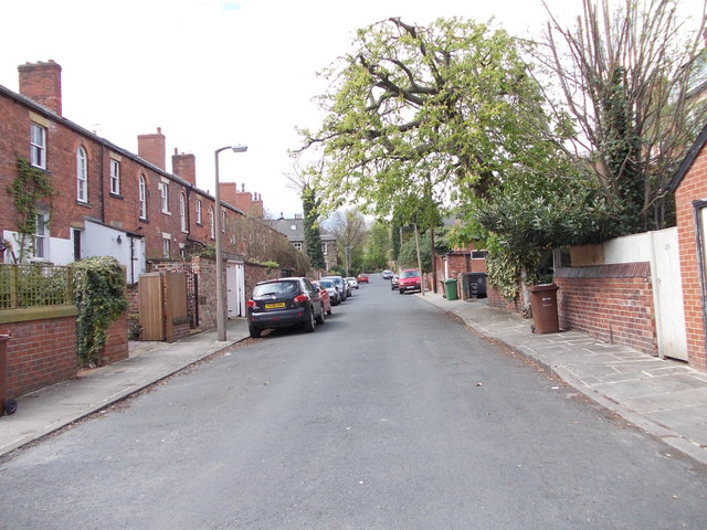 Claremont Road - viewed from Back Woodbine Terrace