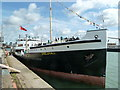 SU4210 : SS Shieldhall - Titanic event by Chris Allen