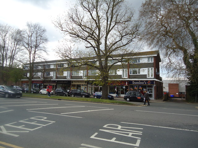 Shops and flats, High Street, Epping