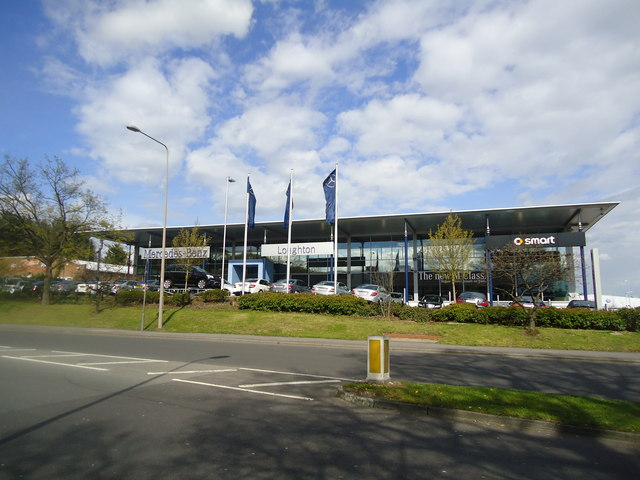 Mercedes Benz Loughton Stacey Harris Geograph Britain