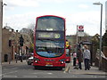 TQ4496 : London bus at Debden by Stacey Harris