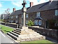 SK3959 : Higham Market Cross by Jonathan Clitheroe