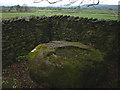 SD6379 : An Andy Goldsworthy sheepfold near Casterton by Karl and Ali