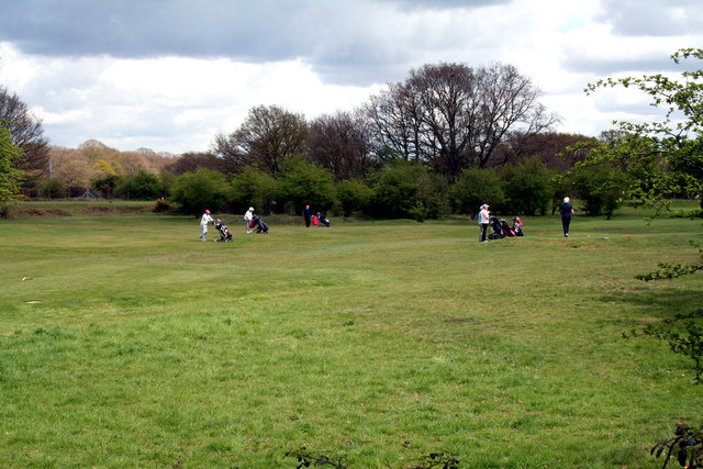 Merton (southern fringes):  Play at Mitcham Golf Club