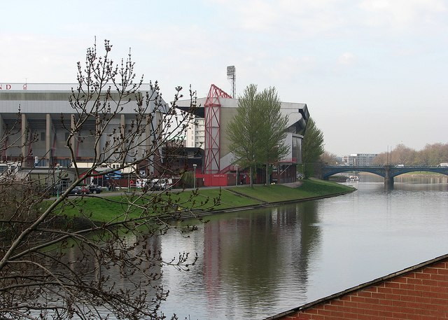 The City Ground and Trent Bridge