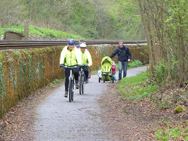 Hexham's only cycle path