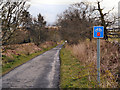 NS4789 : Old Gartmore Road/Rob Roy Way by David Dixon