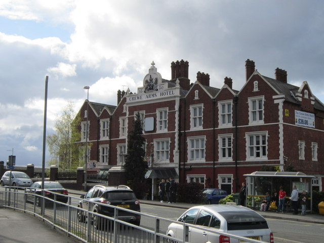 The Crewe Arms Hotel, Crewe