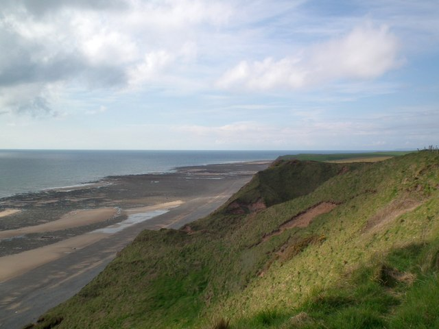 Cliff at Gutterby looking North