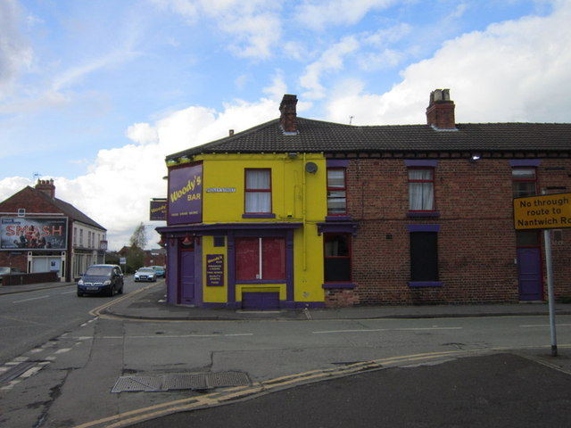 Woody's Bar on Mill Street, Crewe