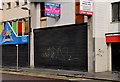 """J3374 : """"To let"""" shop, Belfast (4) by Albert Bridge"""