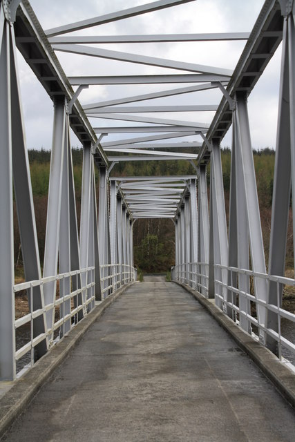 Bridge over Kendoon Loch