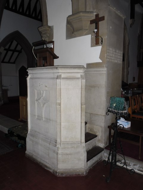 St John the Evangelist: pulpit