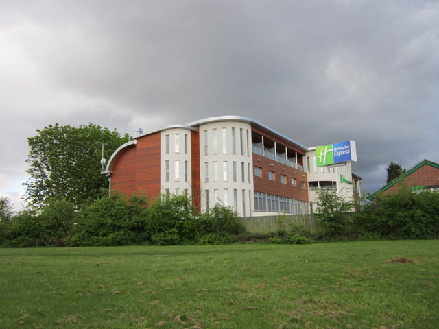 The Holiday Inn Express on Macon Way, Crewe