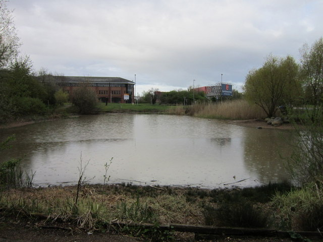 The Nature Area at Crewe Business Park