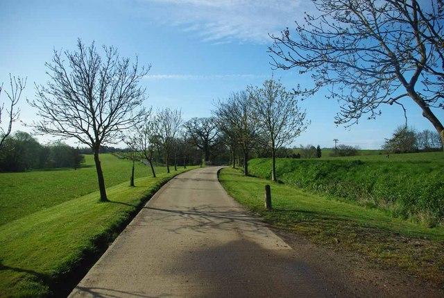 Footpath to Fountain Lane