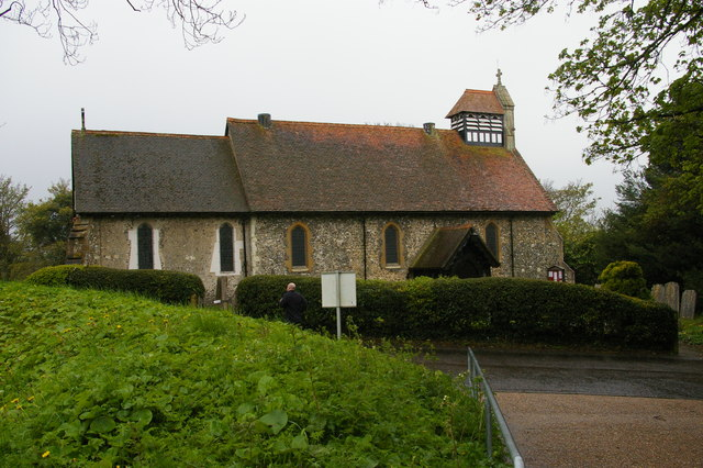 Keston parish church