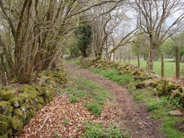 Cilffordd Laswern Byway, Llangatwg
