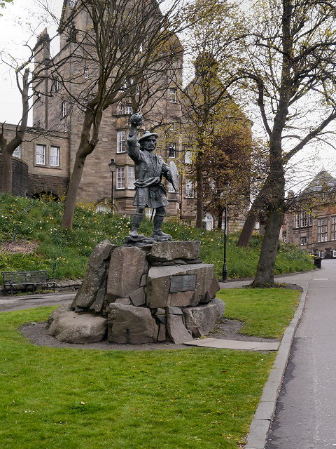 Statue of Rob Roy, Stirling