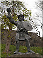 NS7993 : The Statue of Rob Roy MacGregor by David Dixon