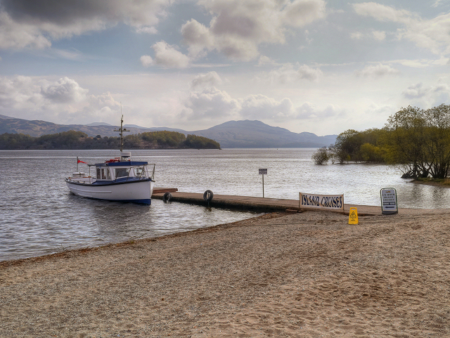 Loch Lomond, Jetty at Luss