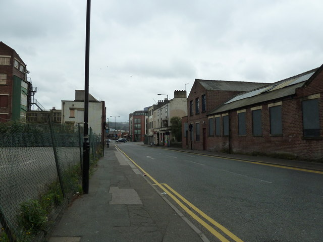 An empty Sidney Street