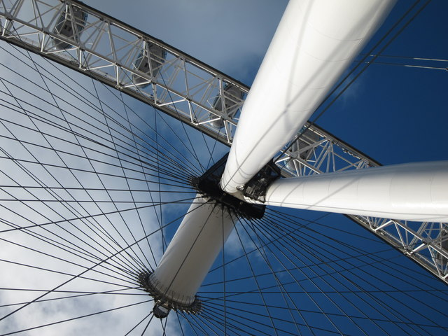 London Eye detail