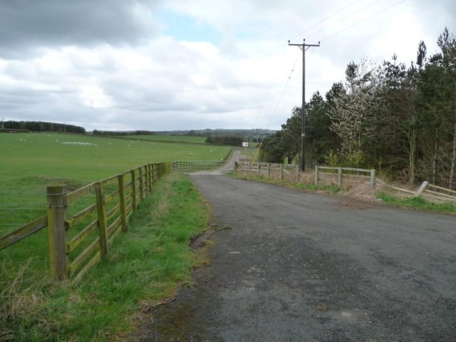 This way to Humber House Farm