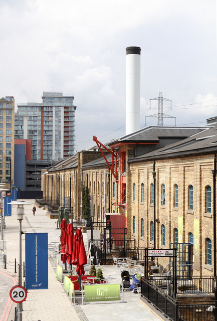 Converted Warehouses at Royal Victoria Dock