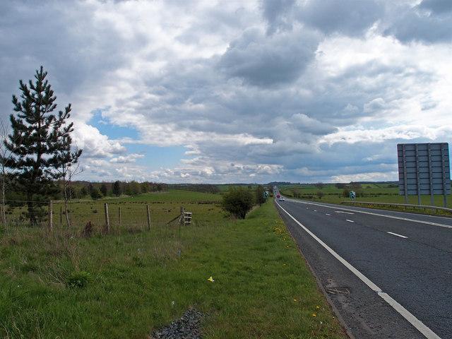 A76 near Kilmarnock