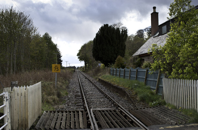 Foulis Station - long closed