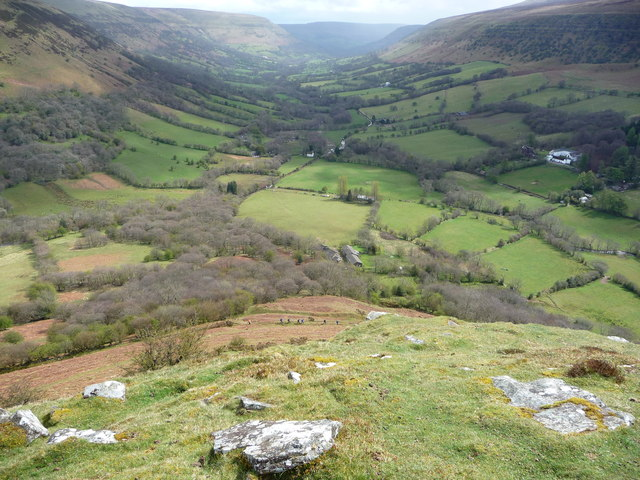 The Llanthony Valley / Vale of Ewyas