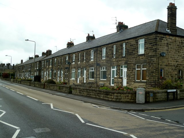 Terraced houses in Darley Dale
