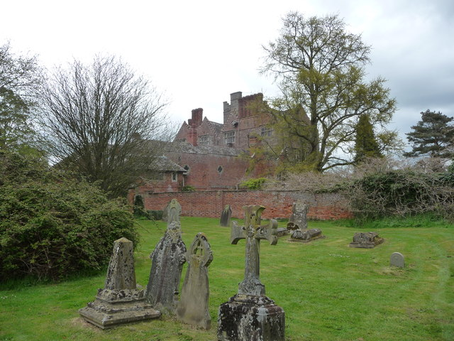 Part of Kinnersley Castle