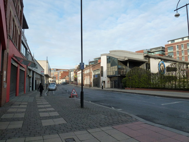 Shoreham Street in April 2012