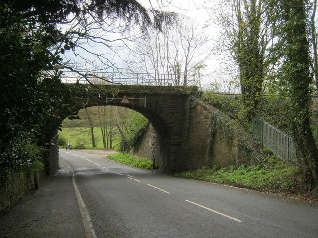 The north side of Clemmy Bank Railway Bridge in Witton-le-Wear