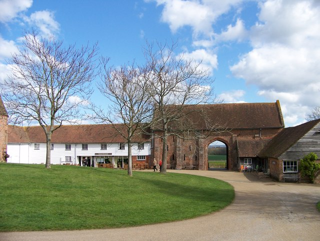 The Granary Restaurant and barn at Sissinghurst Castle